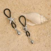 as54 2 bijoux seins etoiles de mer col argent la paire.jpg