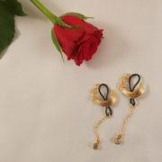 as82 4 bijoux seins etoiles filantes col or.jpg