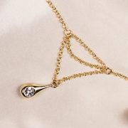 Bijou Taille Diamant Goutte