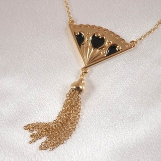 Pendentif Eventail Or