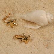 Bijoux sexe Etoiles de mer clips col or (la paire)