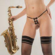 ST161 C string symphonie de satin argent