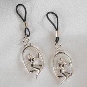 Libertines swings breasts jewels silver