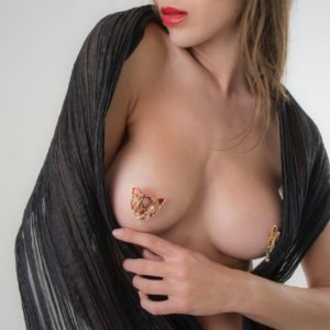 Nipple Jewelry no piercing