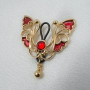 jewel-breast-nipple-butterfly-gold-red