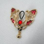 bijou-sein-teton-papillon-or-rouge