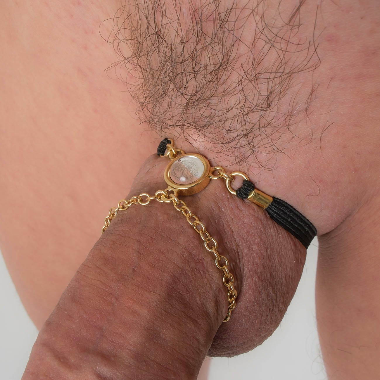 Iced Erotic Erecting Penis Necklace