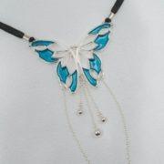string-sexe-femme-papillon-argent-bleu