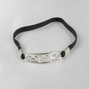 bracelet-penis-adjustable-jewel-hieroglyph-silver