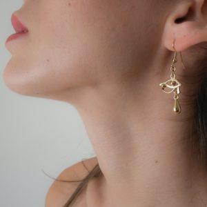 bijoux oreilles sexy or egypte